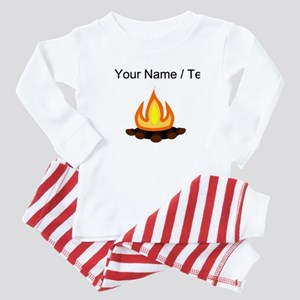 Custom Camp Fire Baby Pajamas